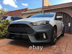 Focus RS style Front Bumper cover grille Conversion set fit 15-18 Focus ST SE RS