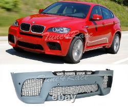 For 08-14 BMW E71 E72 X6 Front Bumper M Sport Style Performance Conversion New