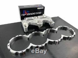 For Honda B Series B16 B18 Girdle + Block Guard Conversion Kit VTEC + Dowel Pins
