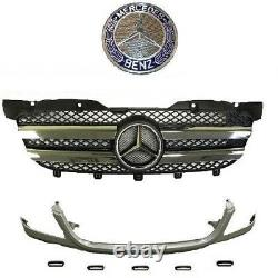 For MERCEDES SPRINTER CONVERSION KIT FRONT GRILLE w CHROME fits 2007 2014