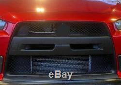 Front Bumper cover grille Kit fits Lancer Evolution MR GSR 2008 -2015