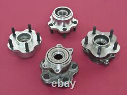 Front & Rear 5-Lug Conversion Hub 4x114.3 5x114.3 For 240SX 89-94 S13