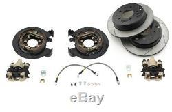 G2 Axle & Gear Rear Disc Brake Conversion Kit with Rotors Fits Jeep TJ LJ YJ XJ