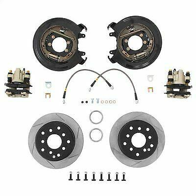 G2 Rear Disc Brake Conversion Kit Withe-brake Cables Fits Jeep Xj Cherokee (91-96)