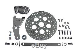 GMA Anodized Rear Caliper Conversion Kit and 11-1/2 Disc fits Harley Davidso