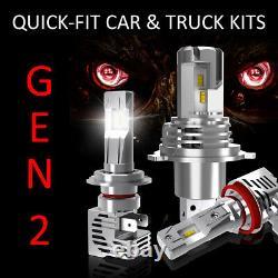 H1 LED Conversion Kit QUICK-FIT GEN2 Car Headlamp Bulb Upgrade Kits