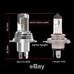H7 LED Conversion Kit QUICK-FIT GEN2 Car Headlamp Bulb 12v24v Super Bright