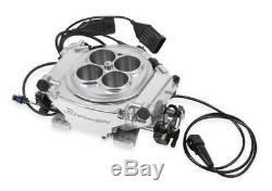 Holley 550-510K Sniper EFI Fuel Injection Conversion Kit fits all V8's Polished