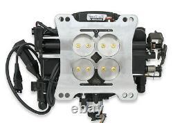 Holley 550-511 Sniper EFI Fuel Injection Conversion Kit fits all V8's Black