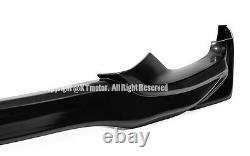 JDM Mugen Style Front Rear Bumper Lip + Side Skirts For 15-Up Honda Fit GK5 Jazz
