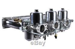 Jaguar E-Type HD8 Triple SU Carburettor Conversion Kit, will fit XJ6 210560