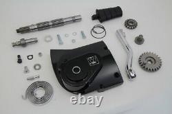 Kick Starter Conversion Kit Black fits Harley-Davidson