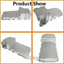 LS Swap Aluminum Oil Pan Retrofit Kit Low Profile For LS1 LS2 LS3 4.8 5.3 6.0