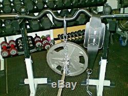 Landmine T-bar To Belt Squat Conversion Kit