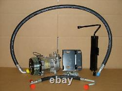 New Ac Compressor Conversion Kit Fits 1968 Ford Mustang V8