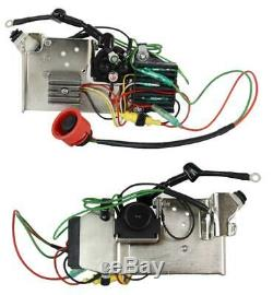 New Electric Starter Conversion Kit Fits Nissan Tohatsu 30hp Engines 346-76010-0