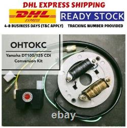 New Yamaha DT100 DT125 CDI Conversion Kit Electronic Ignition -DHL EXPRESS