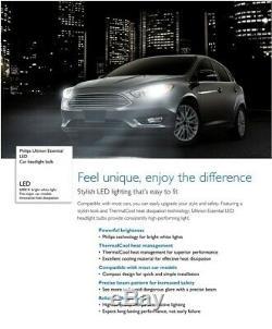 Philips Ultinon LED G2 6500K White 9005 HB3 Two Bulbs Head Light High Beam Fit