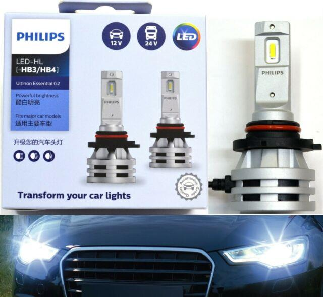 Philips Ultinon Led G2 6500k White 9006 Hb4 Two Bulbs Head Light Low Beam Fit Oe