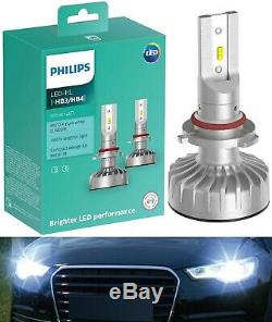 Philips Ultinon LED Kit White 6000K 9005 HB3 Two Bulb Head Light Replacement Fit