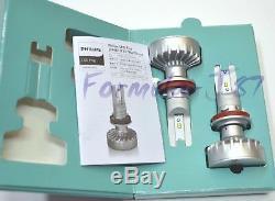 Philips Ultinon LED Kit White 6000K Fog Light H11 Two Bulbs Replace OE Fit Lamp