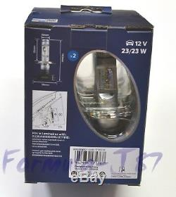 Philips X-Treme Ultinon LED 6000K White H4 Two Bulbs Fog Light High Beam OE Fit