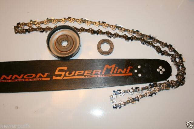 Piltz 18 Inch 7 Tooth Hot Rod Kit Conversion Kit Fits, Husqvarna 562