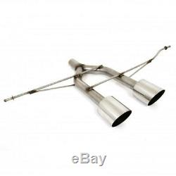 Piper exhausts R32 exhaust conversion kit to fit VW Golf MK5 2.0 TDI 140
