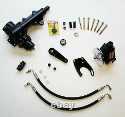 Power steering conversion kit- fits 65 thru 77 Ford F-100, 150, 250, 350 2wd