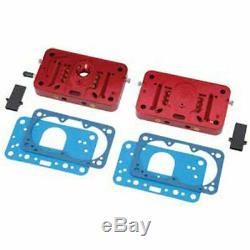 Quick Fuel 34-105QFT Billet Metering Block Conversion Kit Fits Holley 4776-4781