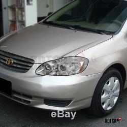 Slim HID Conversion Kit+Fit Toyota 2003-2008 Corolla Clear Projector Headlights