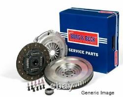 Solid Flywheel Clutch Conversion Kit Fits Nissan Juke F15 1.5d 2010 On Set B&b