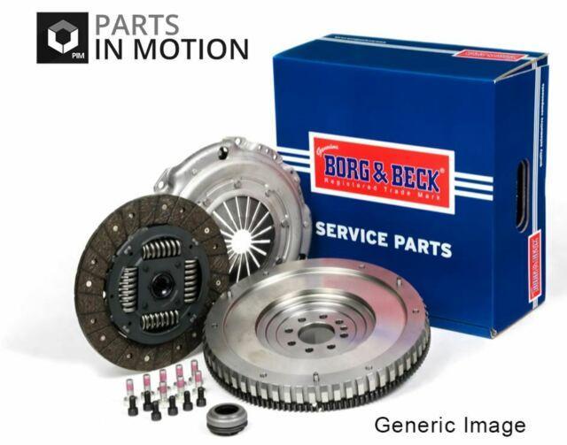 Solid Flywheel Clutch Conversion Kit Fits Bmw 120 E82 2.0d 07 To 13 Set B&b New
