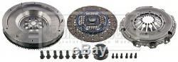 Solid Flywheel Clutch Conversion Kit fits BMW 520D E60 2.0D 05 to 09 M47D20 Set