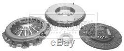 Solid Flywheel Clutch Conversion Kit fits NISSAN NAVARA D40 2.5D 05 to 10 Set