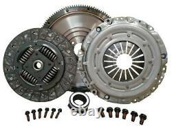 Solid Flywheel Conversion Clutch Kit Fit Vw Caddy III 2004-2010 1.9 Tdi 105hp