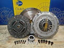 Solid Flywheel Conversion Clutch Kit Fit Vw Golf VI 2009-2012 1.6 Tdi 90hp 105hp