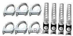 Stianless steel Conversion Kit fits2006 GMC dual kit Sierra 1500 2500