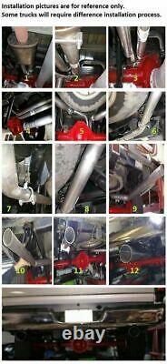 Stianless steel Conversion Kit fits2011 Chevrolet Silverado 1500 2500