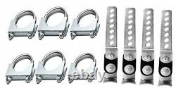 Stianless steel Conversion Kit fits2015 GMC dual kit Sierra 1500 2500