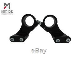 Street Fighter Fat Bar Top Yoke Triple Clamp Conversion Kit To Fit 43mm Forks