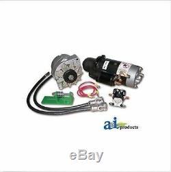 TS-8000 24V to 12V Starter Conversion Kit Fits JD 3010 3020 4010 4020