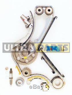 Timing Chain Conversion Kit (Upper & Lower Duplex Chains) fits Nissan D40 Navara