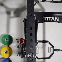 Titan Fitness Adjustable Pin-On Bracket Conversion Kit for TITAN Series Lever Ar