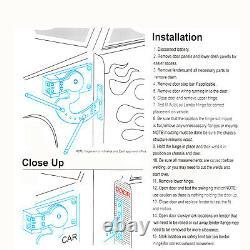Universal Vertical Lambo Door Conversion Kit Hinge Fit Any Car Closeout 90Degree