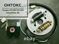 Yamaha DT125 CDI Conversion Kit Electronic Ignition Flywheel EXPRESS SHIPPING